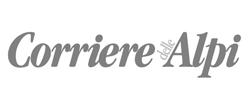 """Logo quotidiano """"Corriere delle Alpi"""""""