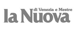 """Logo quotidiano """"La Nuova di Venezia e Mestre"""""""